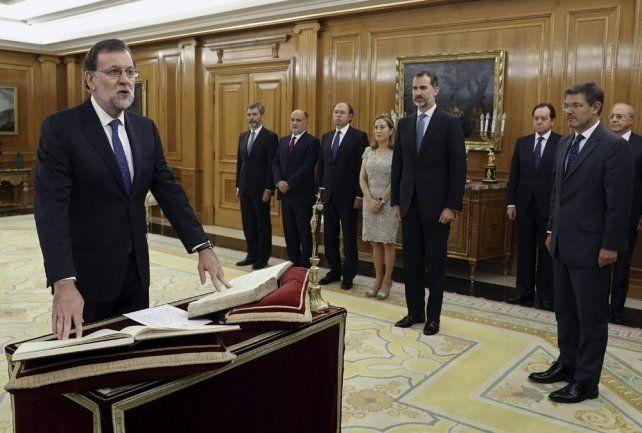 Rajoy inició un nuevo mandato en España con un gobierno en minoría
