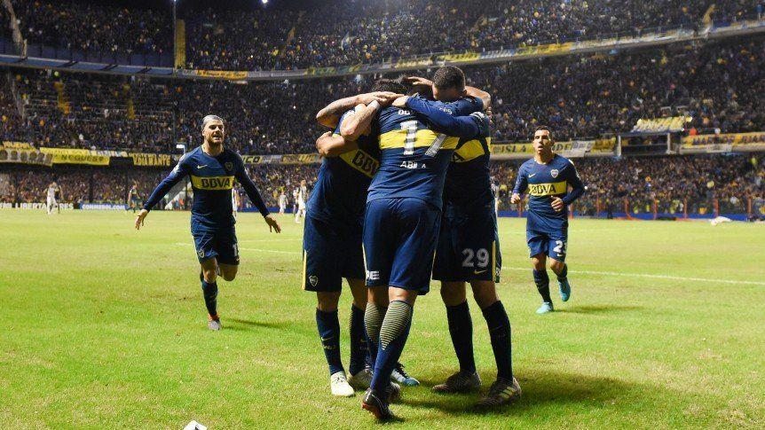 Boca ganó y Palmeiras lo empujó a octavos