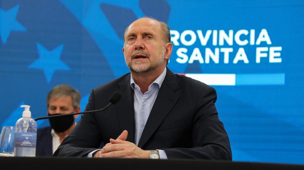 Santa Fe: aislaron al gobernador Omar Perotti