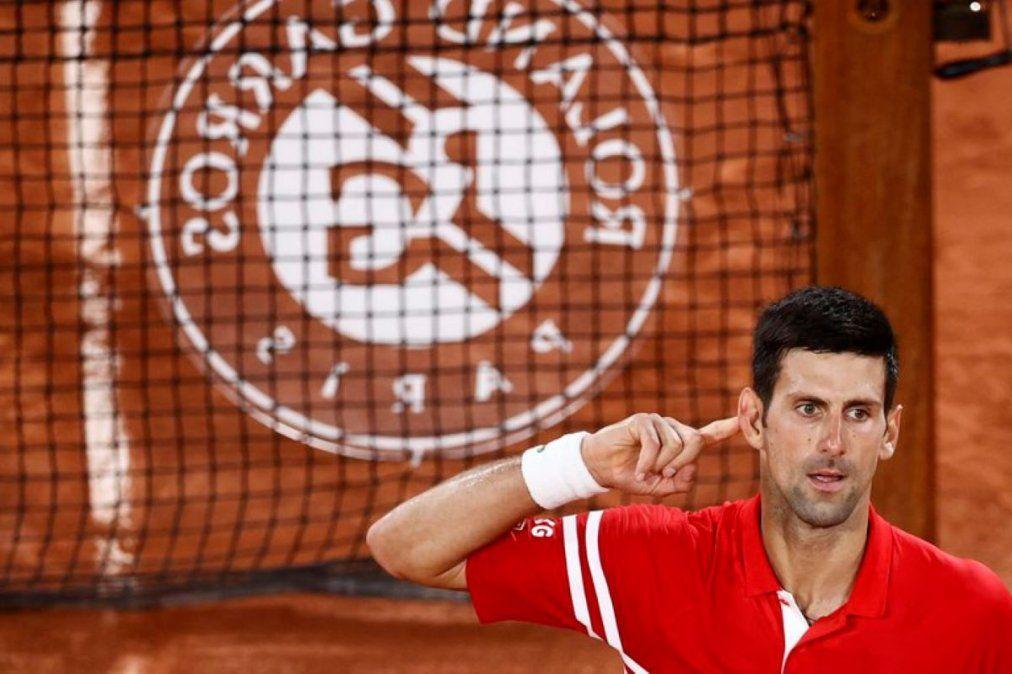 Novak Djokovic está final de Roland Garros (REUTERS/Christian Hartmann).
