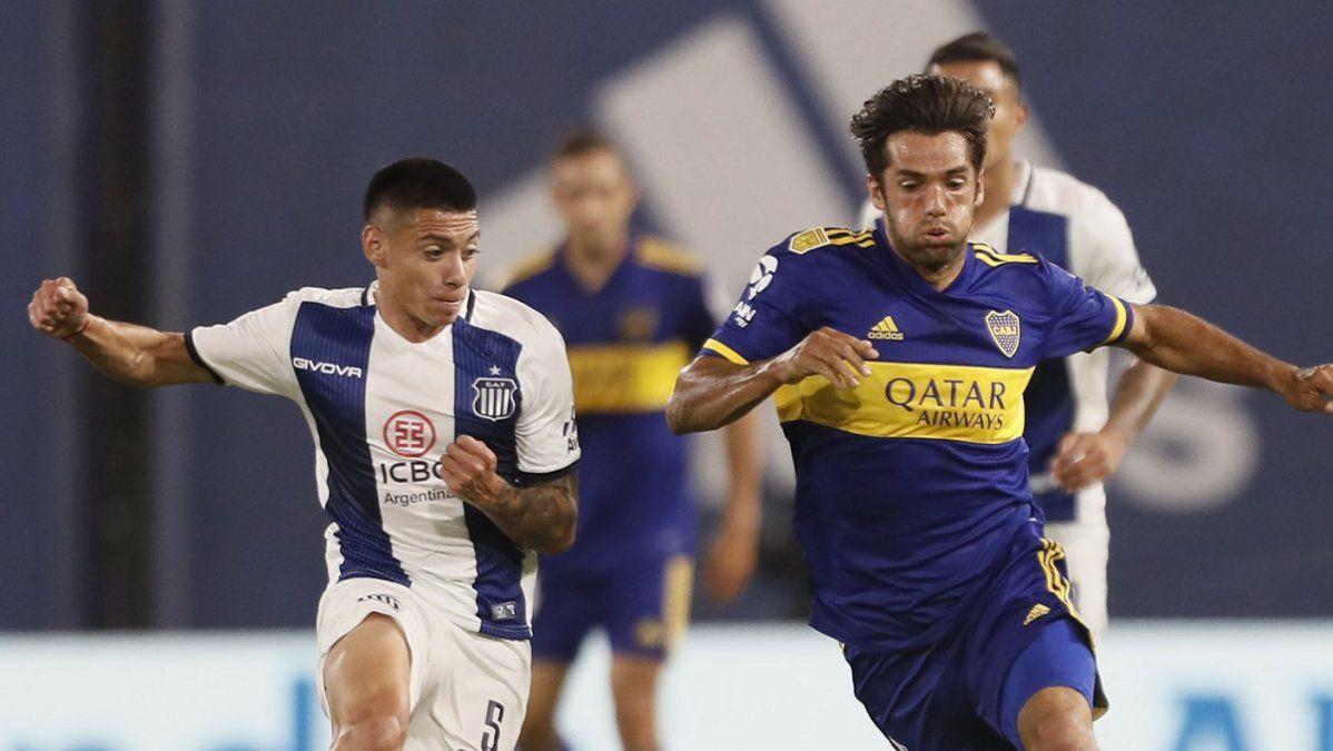 Talleres sorprendió a Boca y terminó con el invicto de Russo