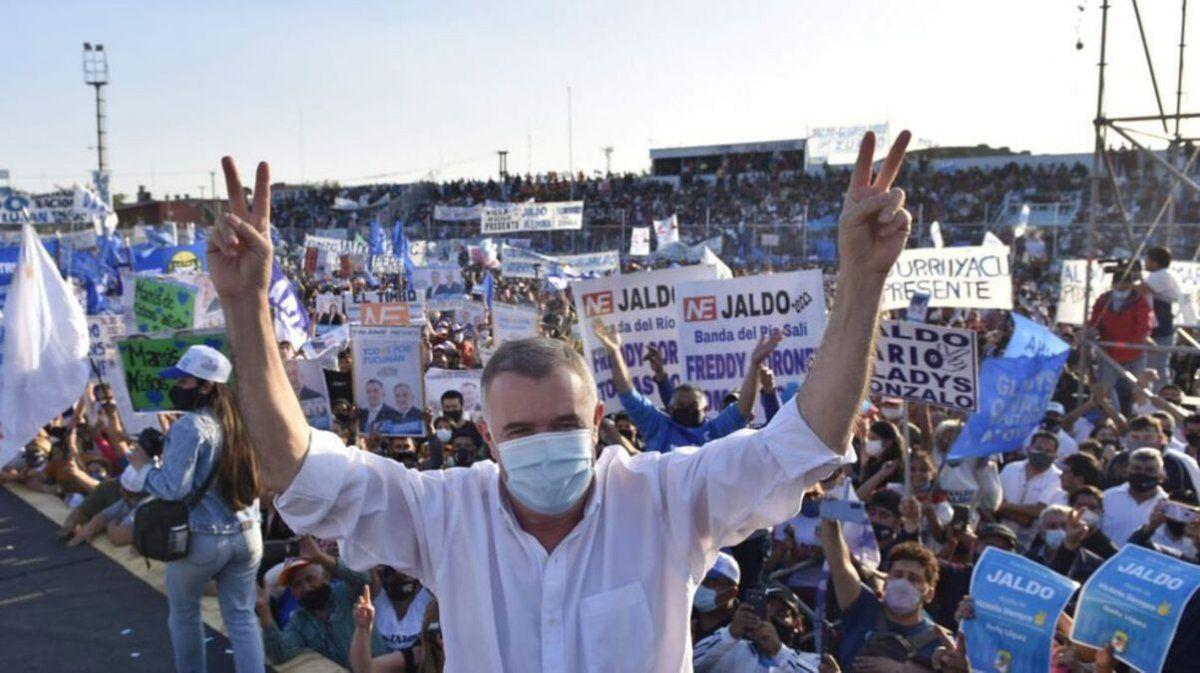 Jaldo renunció a la precandidatura para ser Diputado Nacional por el Frente de Todos.