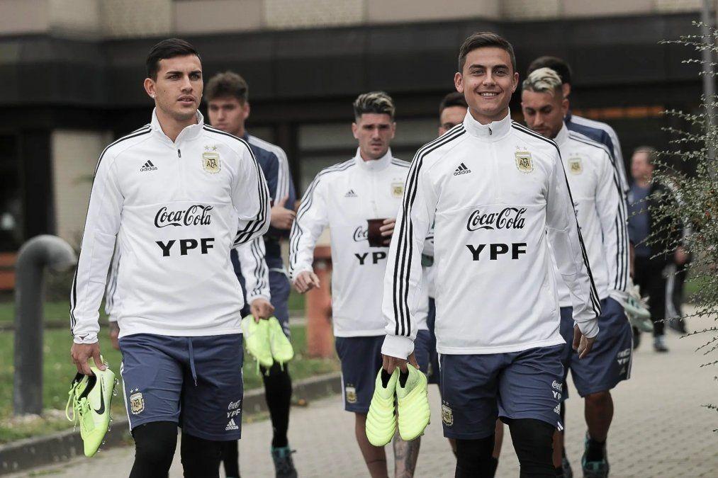 La selección entrenó pensando en el amistoso con Alemania.