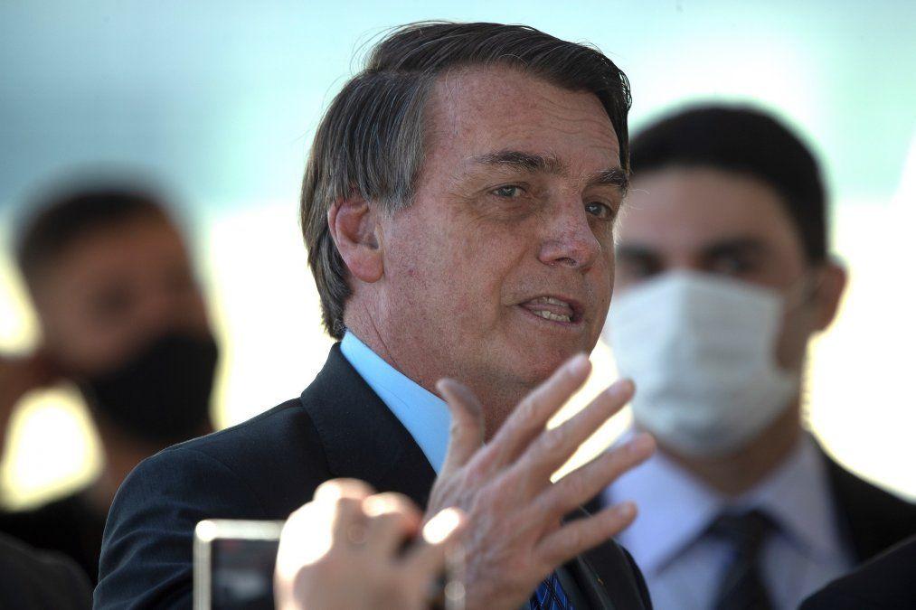 Bolsonaro afirmó que Argentina va mal por culpa del comunismo