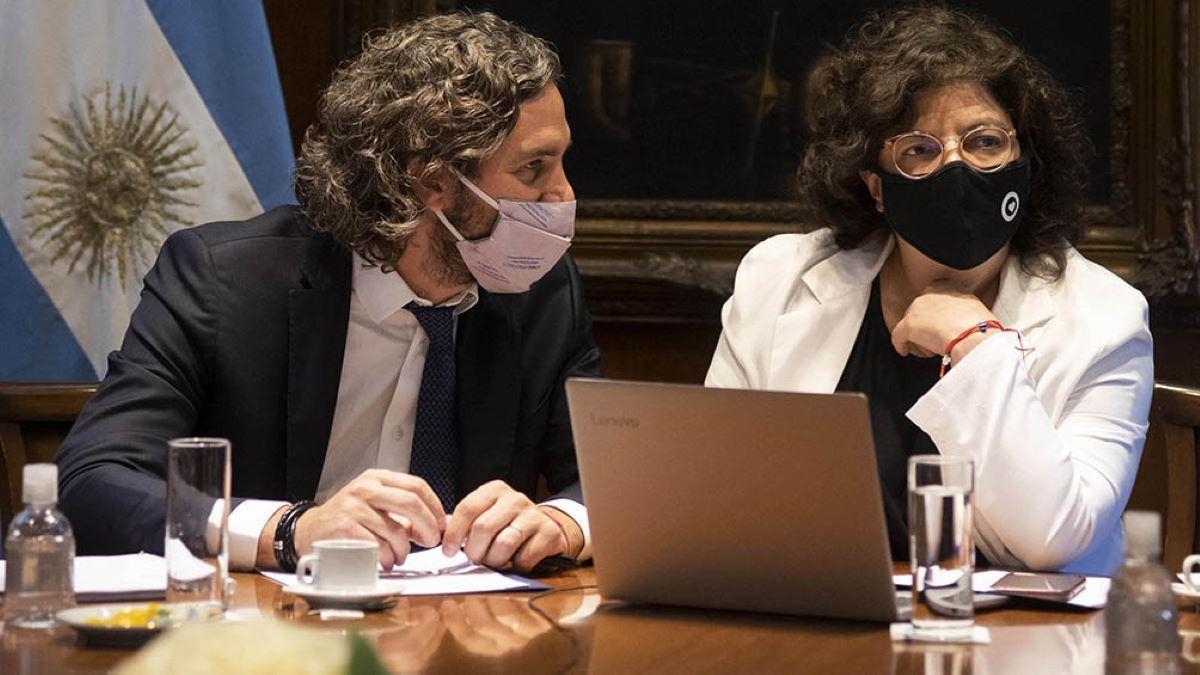 Vizzotti y Cafiero se reúnen con el comité de expertos.