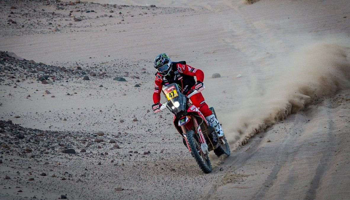 Rally Dakar: Kevin Benavides conserva la punta en motos