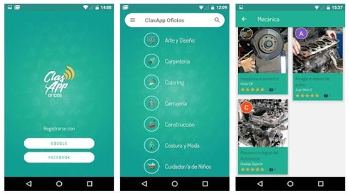 ClasApp: Conocé la aplicación para buscar y publicitar oficios