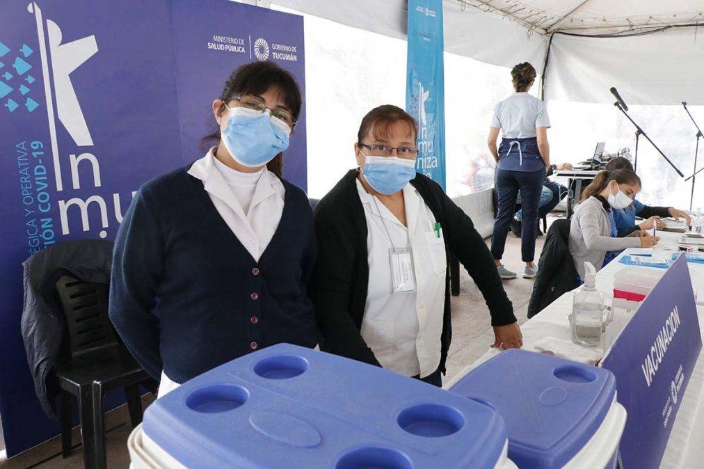 Día de la Sanidad: hoy no atienden los nodos de vacunación