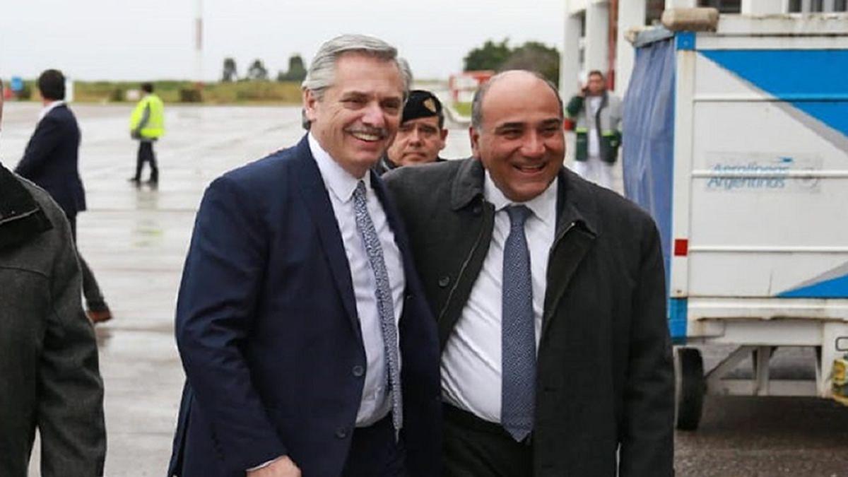 Manzur se reunió con Alberto Fernández en Olivos