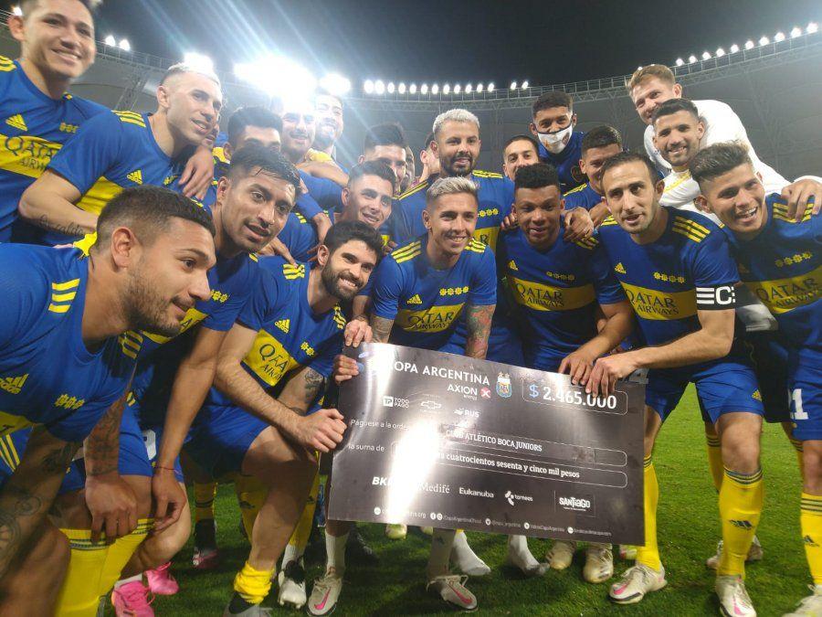 Copa Argentina: Boca ganó por penales y avanzó de ronda