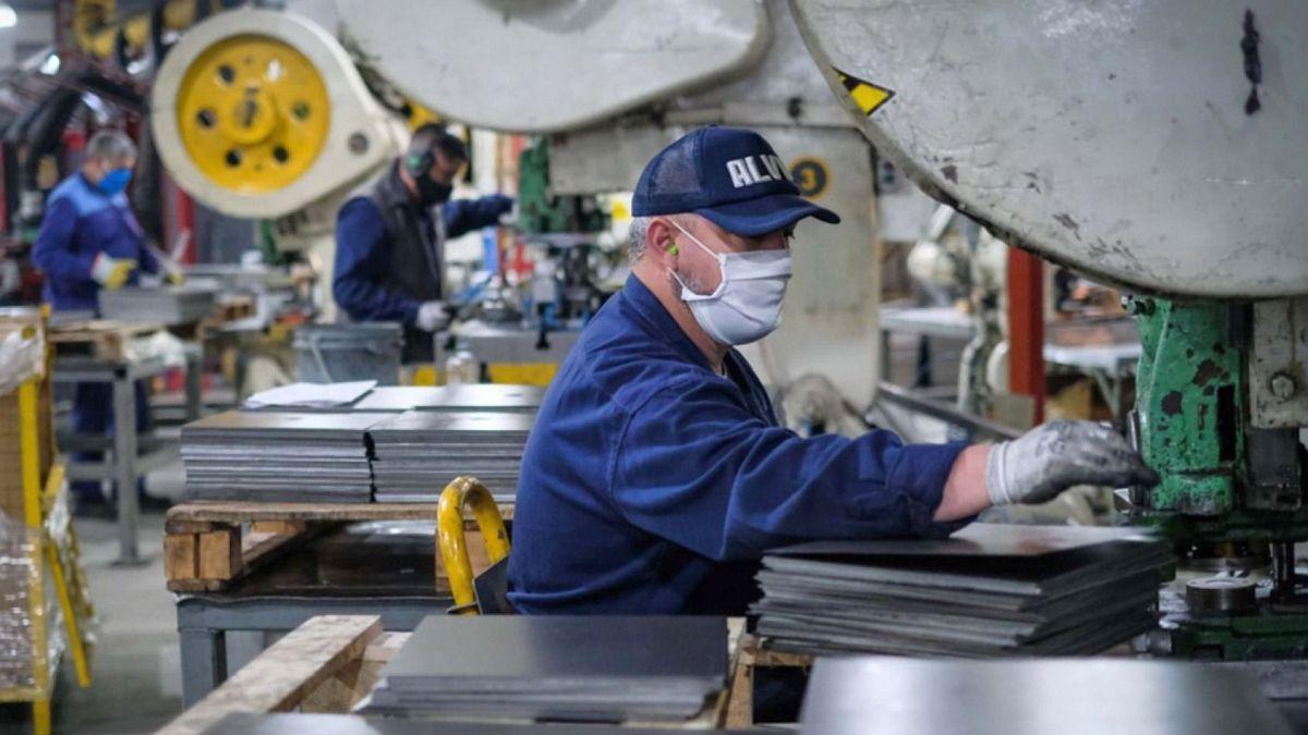 Pymes industriales, con mejora interanual del 44,5% en junio