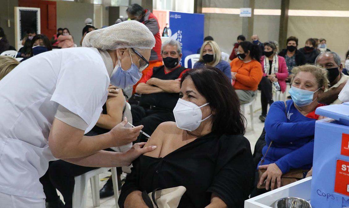 Avanza el plan de vacunación en Tucumán. Foto MSPT