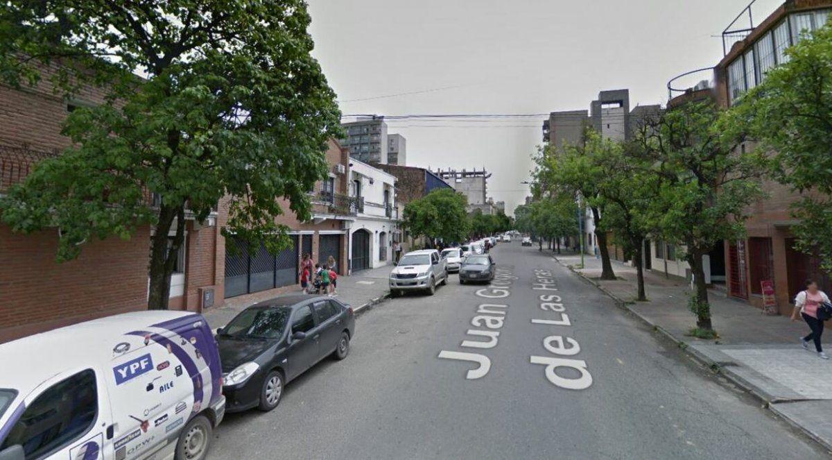 Todo comenzó con un robo en calle Las Heras al 700.