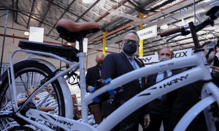Créditos del Banco Nación para bicis eléctricas.