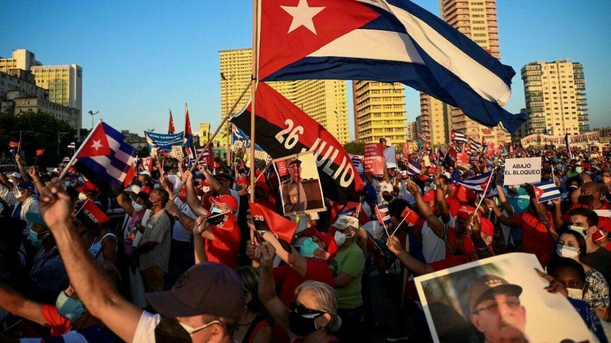Movilizaciones en Cuba fueron fomentadas desde el exterior