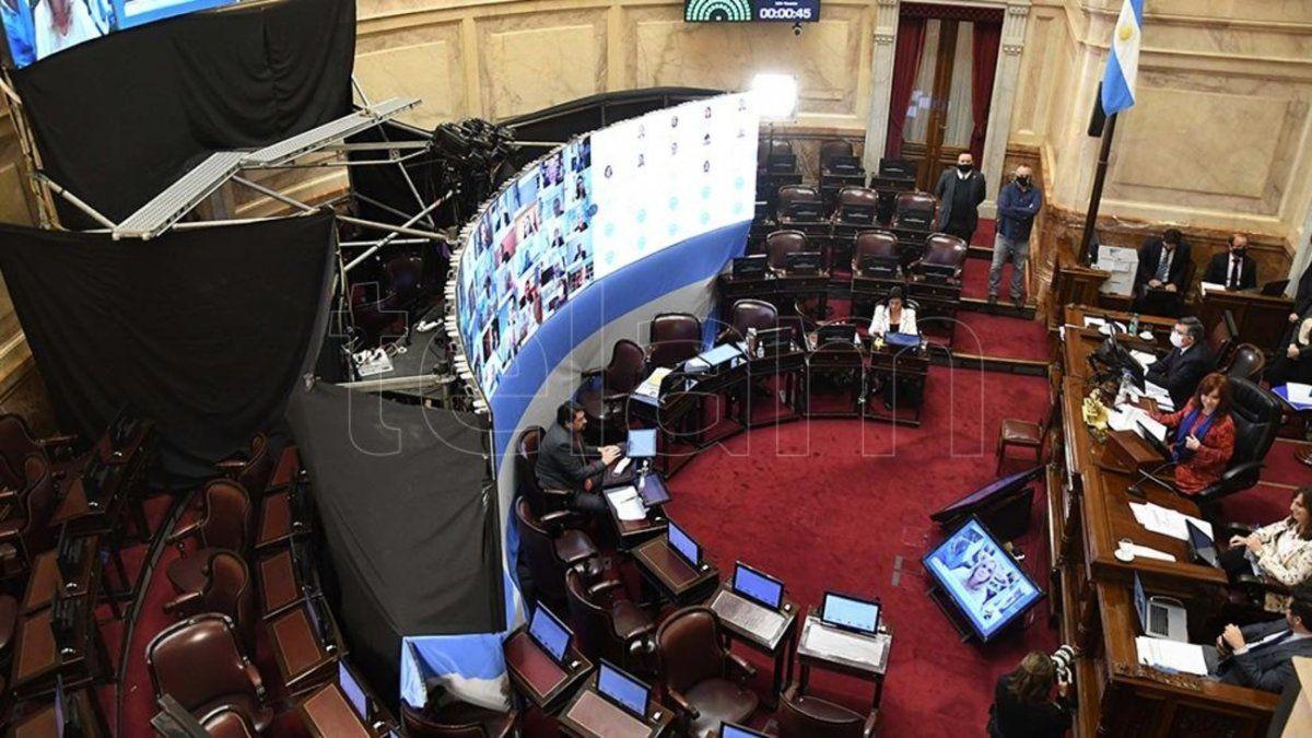 La sesión del Senado será en homenaje a Maradona