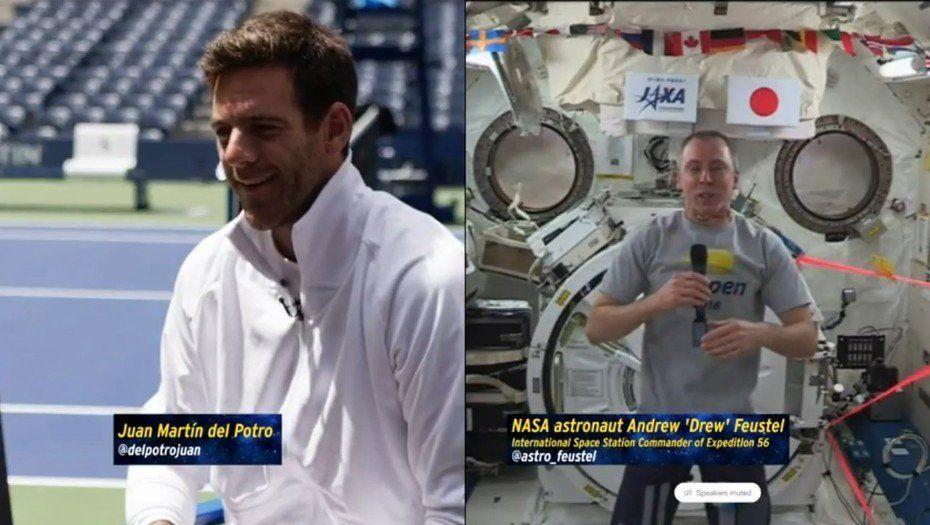 Cómo será la colaboración de Juan Martín del Potro con un experimento de la NASA