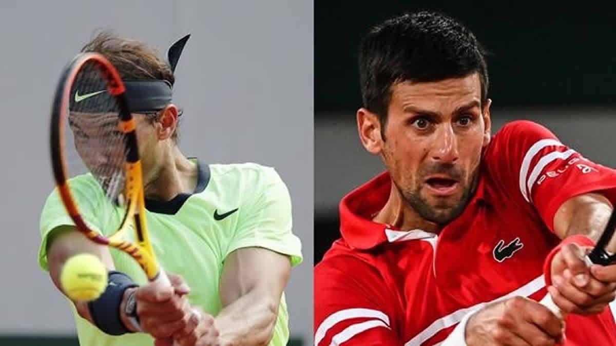 Roland Garros: Nadal y Djokovic definen el torneo