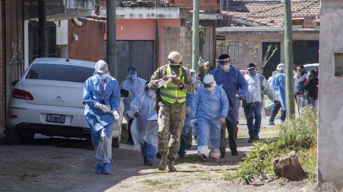 Coronavirus en Argentina: 13.379 casos nuevos y 350 muertes