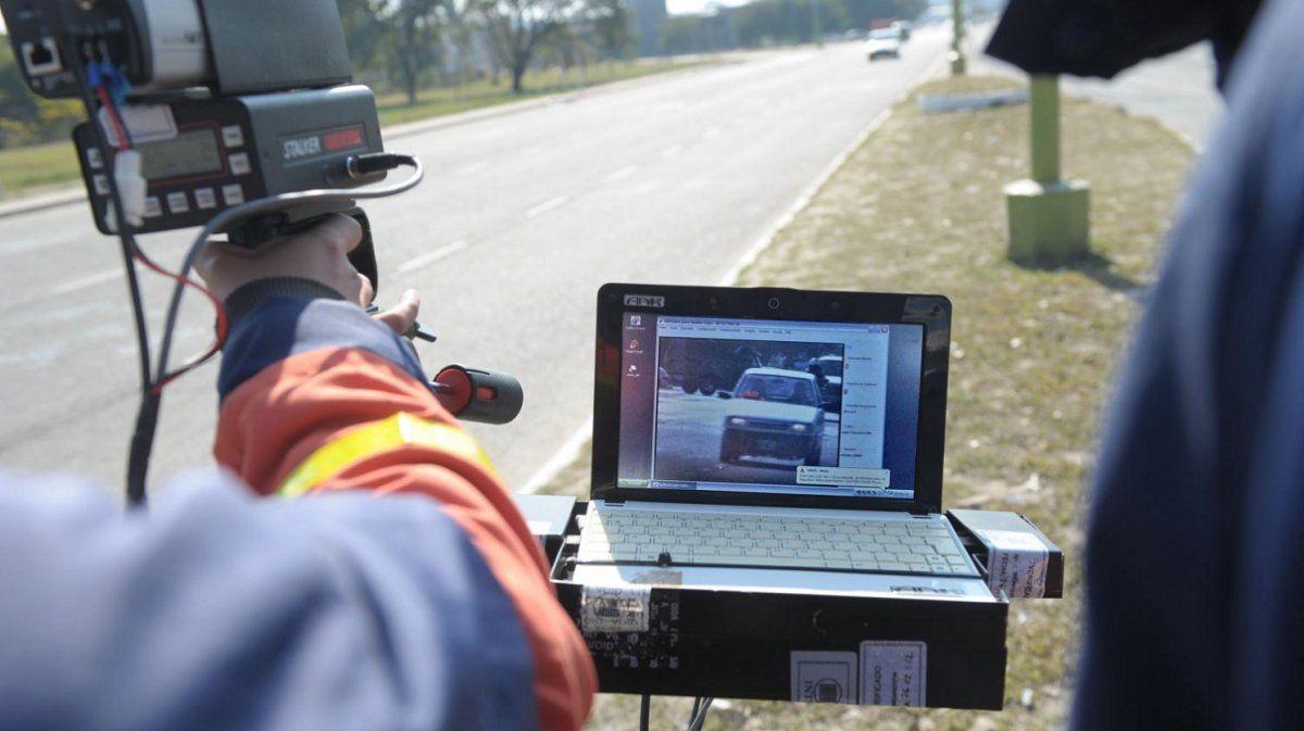Yerba Buena: primeros saldos del nuevo control de velocidad