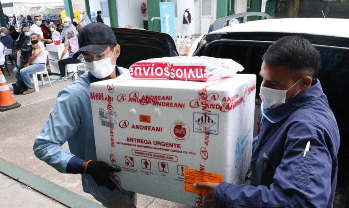 Tucumán recibió 2000 dosis más de la vacuna Sputnik V