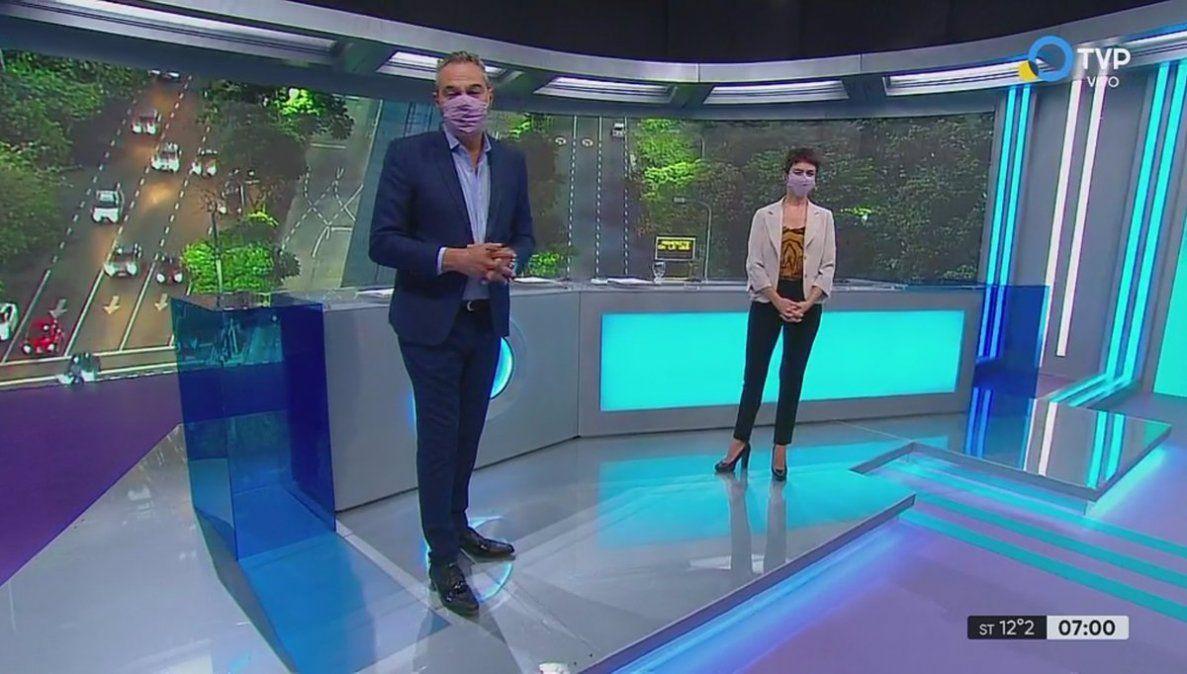 Muerte de Mauro Viale: Piden que conductores de televisión usen barbijo