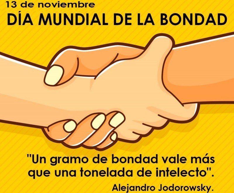 13 de Noviembre: Día Mundial de la Bondad