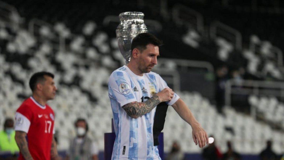 Lionel Messi: Nos faltó el control de la pelota