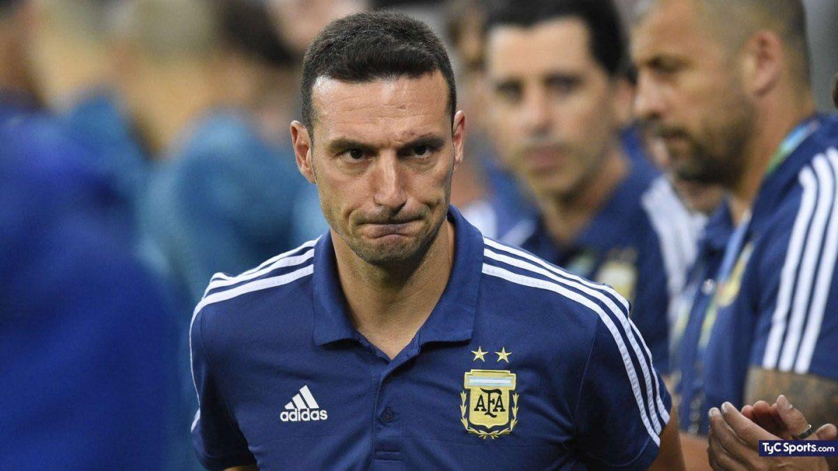 Scaloni meterá varios cambios ante Paraguay.