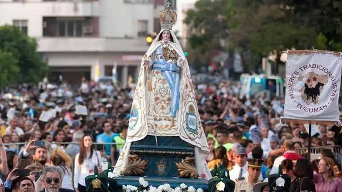 Cómo serán las actividades para honrar a la Virgen de la Merced