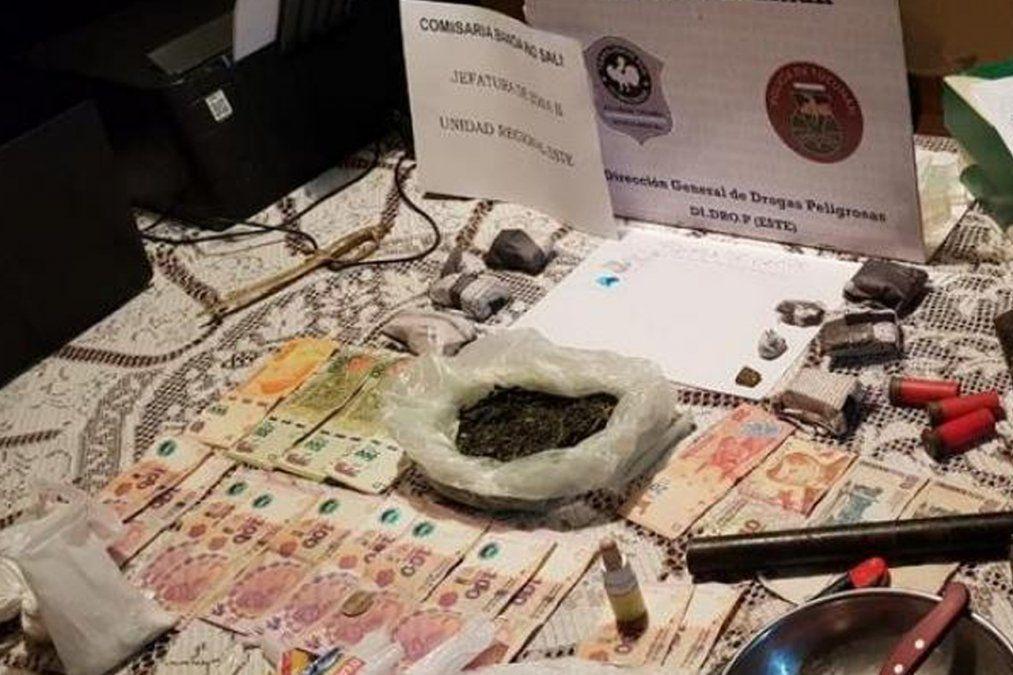 Banda del Río Salí: secuestraron marihuana y cocaína