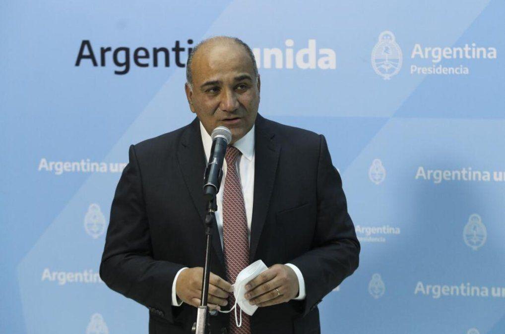 Manzur brindará su primera conferencia como Jefe de Gabinete
