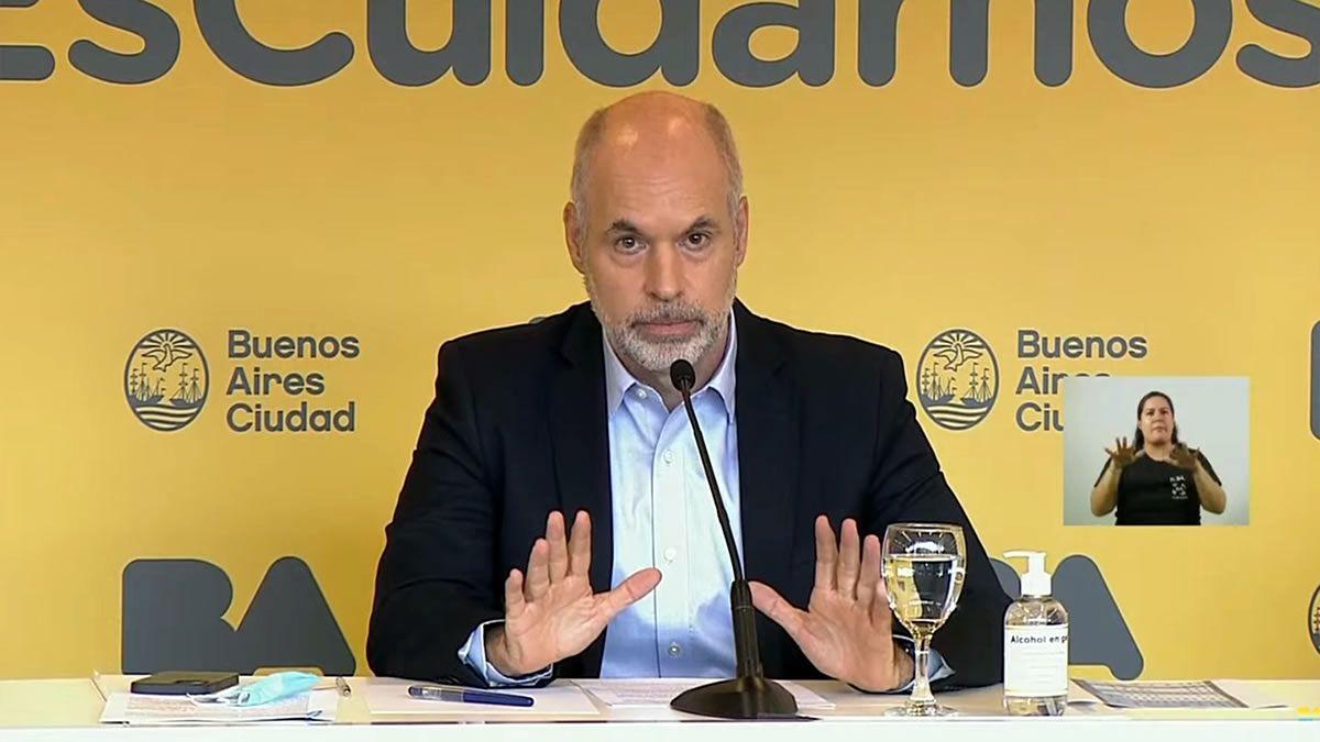 Clases presenciales: amplían la denuncia contra Horacio Rodríguez Larreta