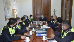 El ministro de Seguridad, Claudio Maley, junto a autoridades locales planean lanzar una aplicación para reforzar la seguridad. Foto: comunicaciontucuman.gob.ar