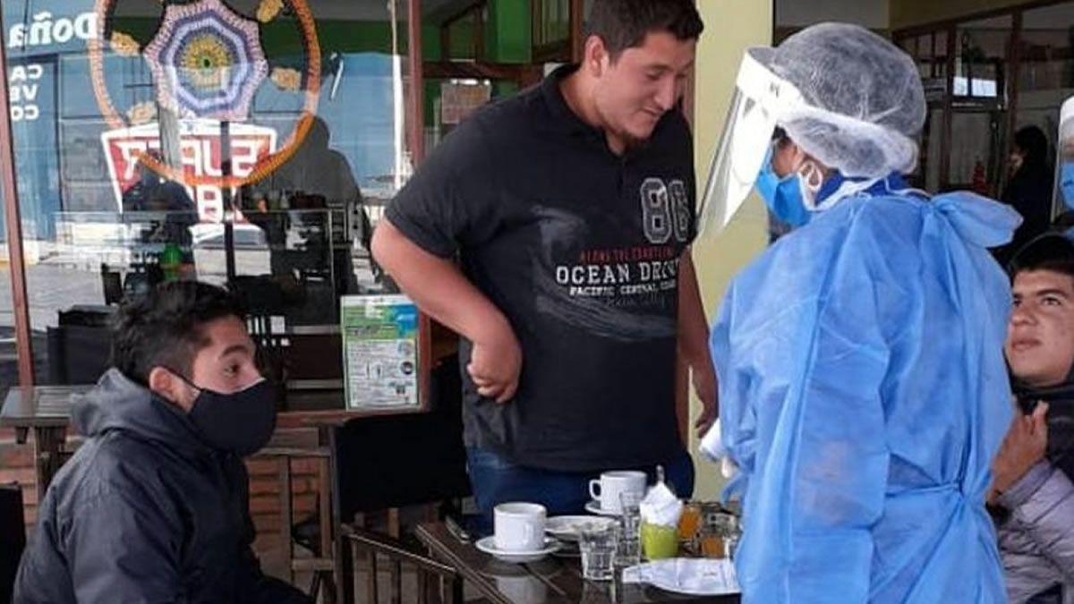 Tafí del Valle: Salud realiza la búsqueda de sintomáticos