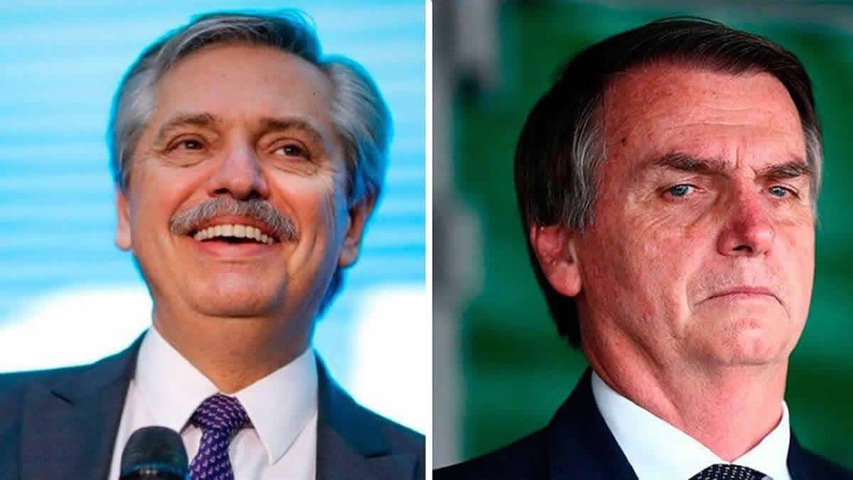 Fernández habló con Bolsonaro y pidió dejar las diferencias del pasado
