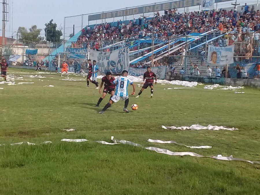 Atlético Concepción era uno de los animadores del torneo.