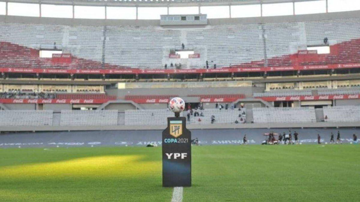La fecha final de la Copa de la Liga Profesional fue programada