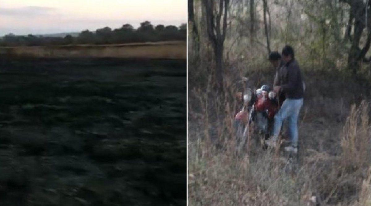 El Molino: investigan si incendio de dos hectáreas fue intencional