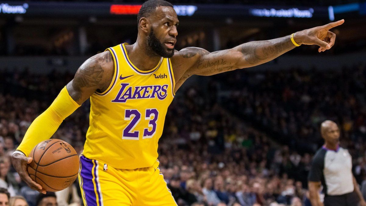 LeBron Jameses la figura del equipo de Los Angeles.