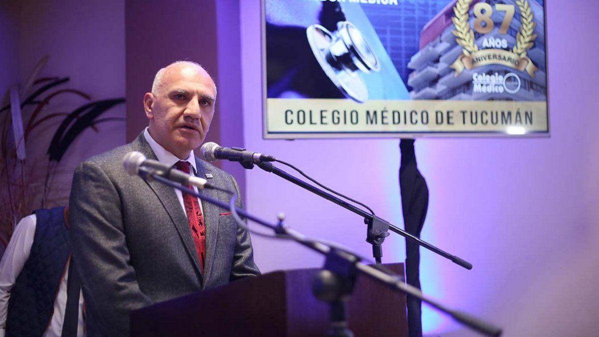El Colegio Médico pidió por una actualización digna