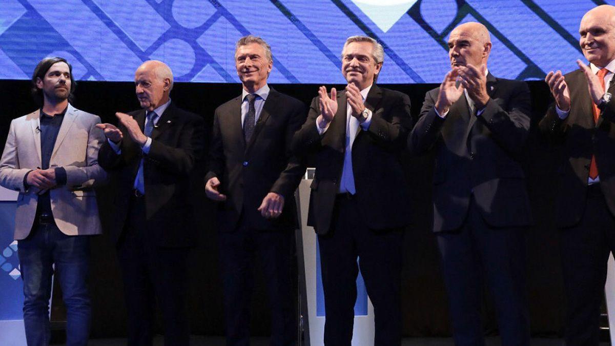 En el último encuentro de candidatos se reafirmó la polarización