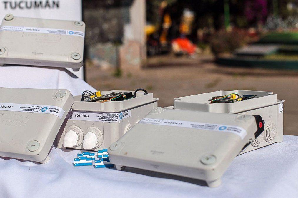 Bicicletas miden la calidad del aire a través de sensores en Tucumán. Foto: comunicaciontucuman.gob.ar