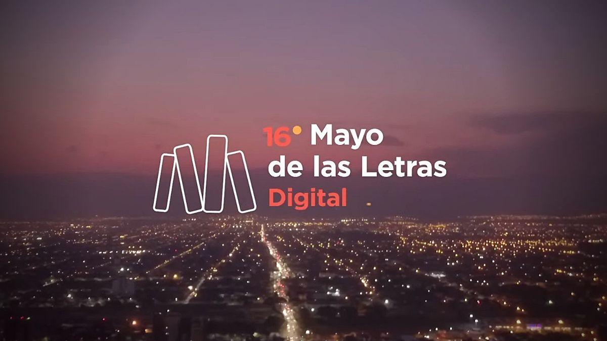 El primer programa de TV del Mayo de las Letras, debutó por YouTube