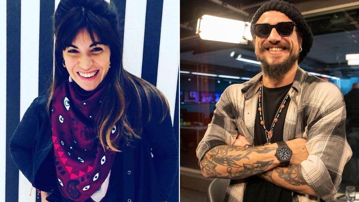 El mensaje de amor de Daniel Osvaldo a Gianinna Maradona