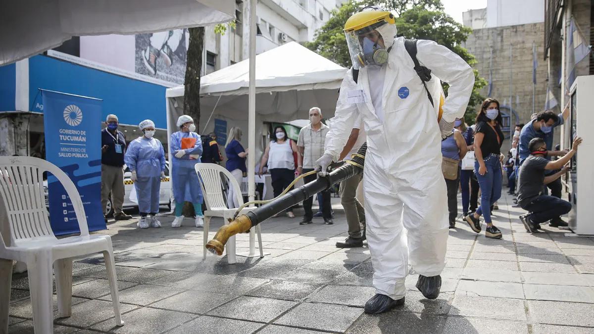 El Ministerio de Salud Pública informa que se suman 1134 nuevos casos de COVID-19 en Tucumán.