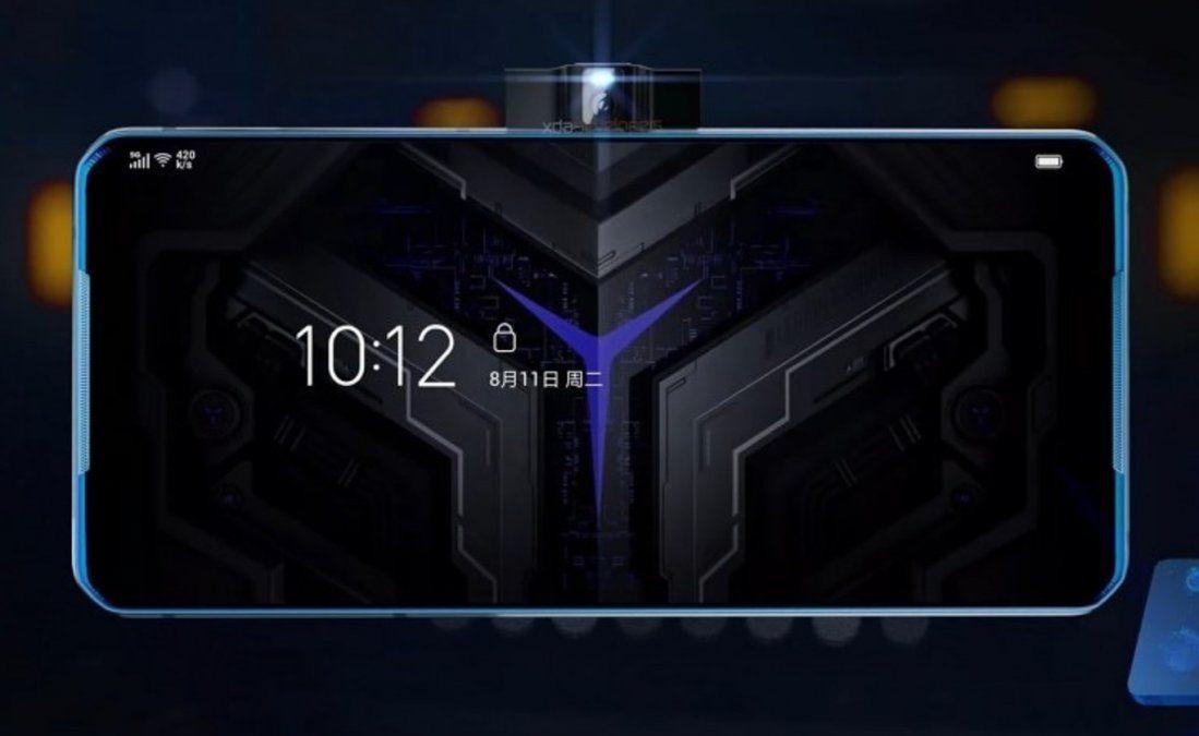 Llega el Lenovo Legion, un celular con cámara lateral