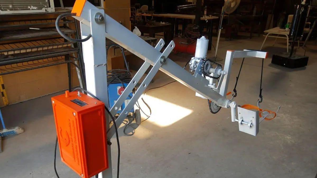 Crearon una tecno-bicicleta para recuperar pacientes Covid-19