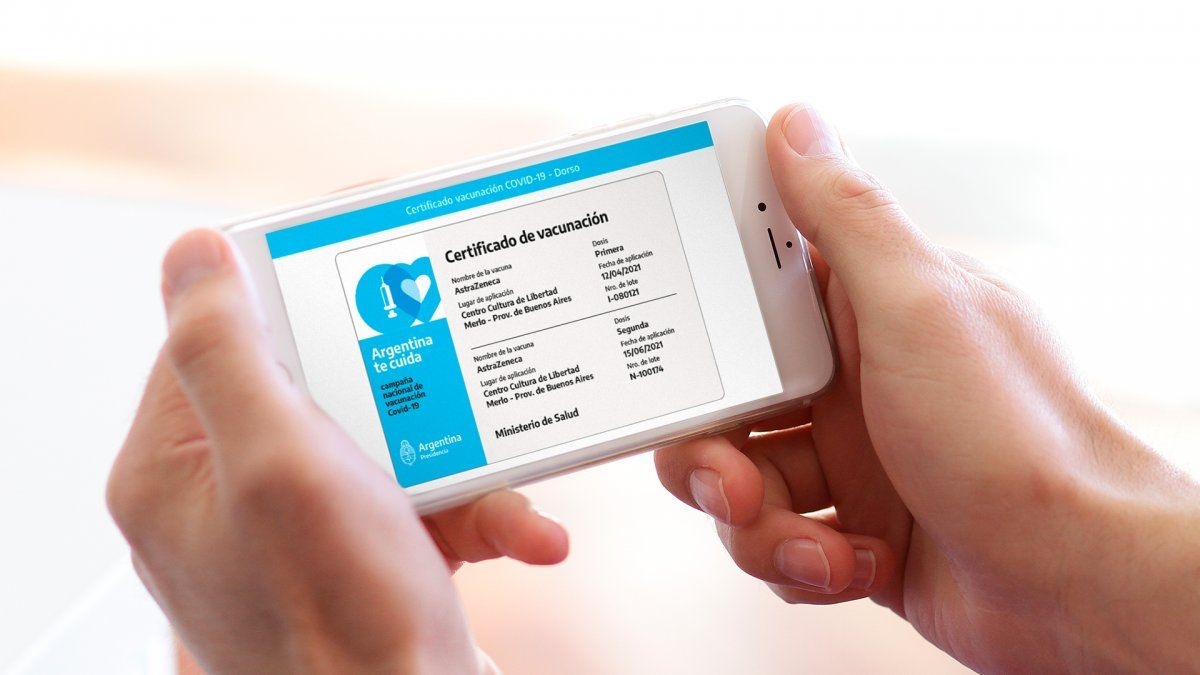 Cómo obtener el certificado digital de vacunación COVID