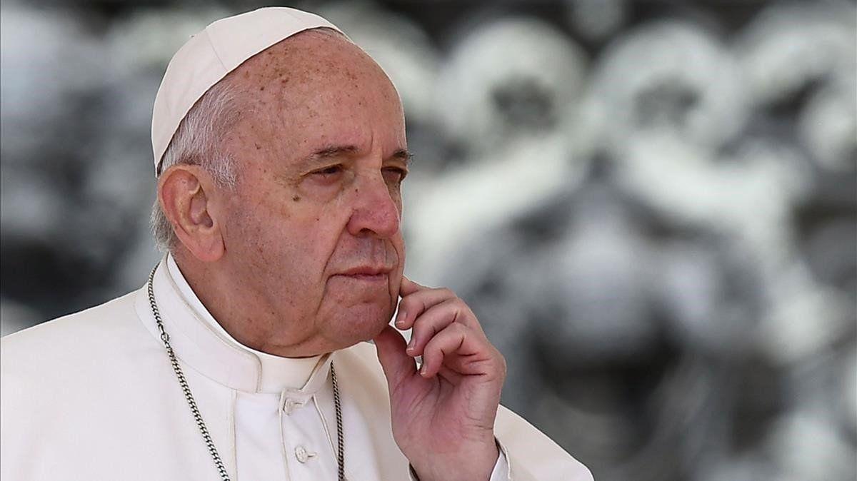 El Papa Francisco pidió por la liberación de las patentes.